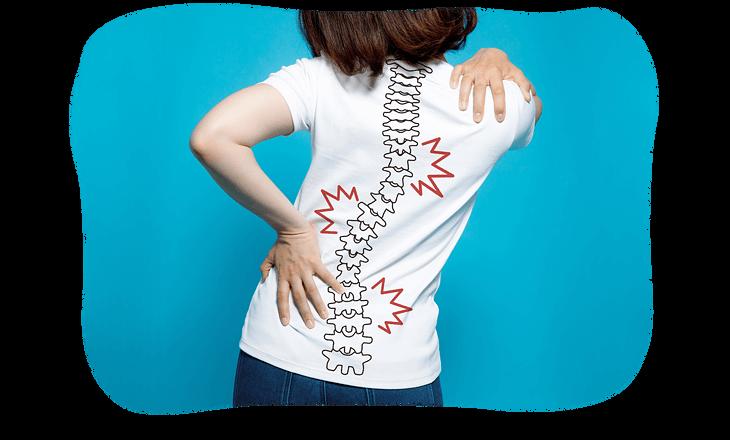 腰痛による骨盤の歪み